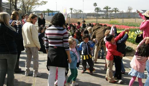 子供達のチューリップ祭@六甲アイランド-1