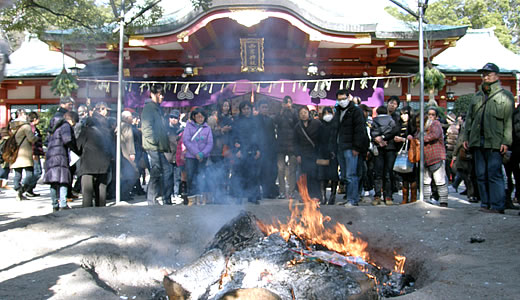 西宮神社初詣2012
