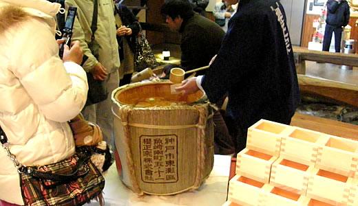 櫻正宗新春鏡開き2012-3