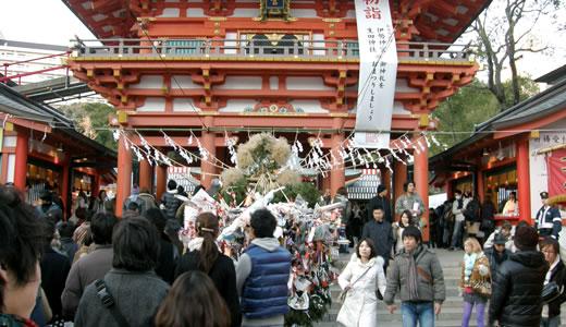 2012初詣・生田神社