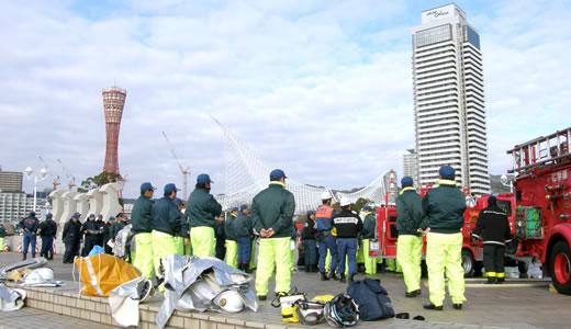 神戸市消防出初式2012-1