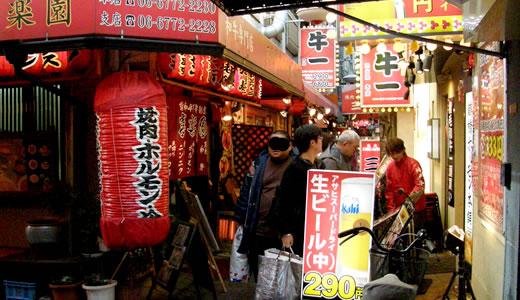 2012奈良へ行った(2)・鶴橋で焼き肉ランチ-1