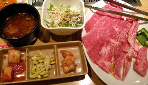 2012奈良へ行った(2)・鶴橋で焼き肉ランチ-3