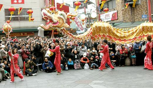 神戸南京町春節祭2012-1
