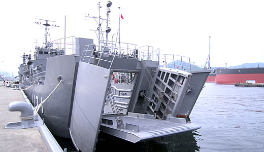 輸送艦「ゆら」一般公開