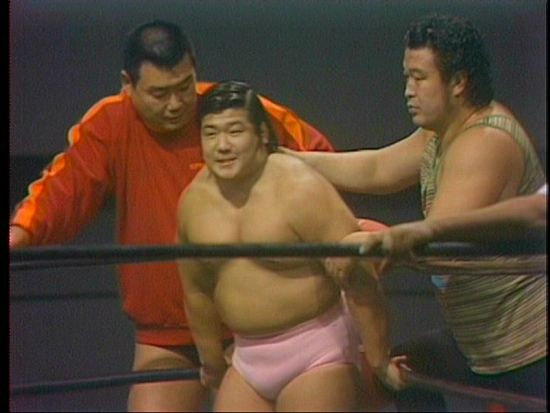 IWA世界ヘビー級選手権試合 ビリ...