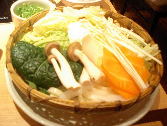 定食の野菜