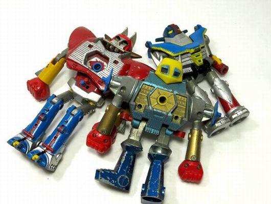 昭和レトロ BullMARK Bull PET ロボット