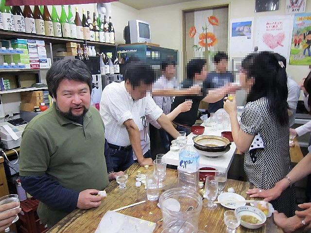 せんべい汁で大黒正宗を呑む会@原酒店