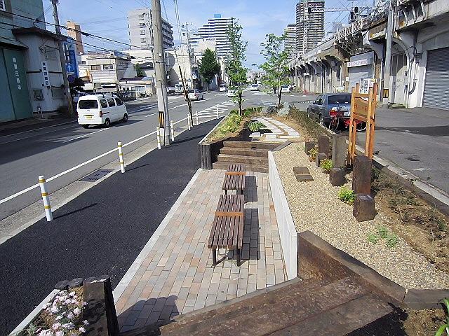 新ポケットパーク『菅原いこい花壇』&新長田情報とか♪