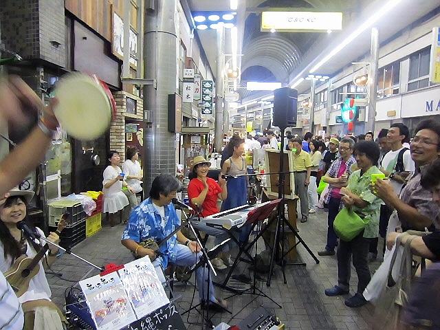2011元町夜市☆美ら美らライブ、最高でした。ヽ(^o^)丿