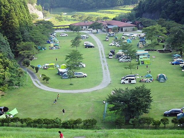 丹波篠山で納涼キャンプ♪