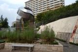 神戸市営住宅・ベルデ名谷入口附近から1番館方面を望む