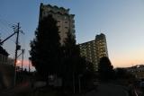 夕暮れのベルデ名谷5〜7番館