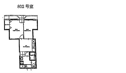 正栄プラザビル802号間取り図_R