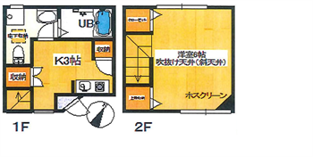 ストーリア104号間取り図_R