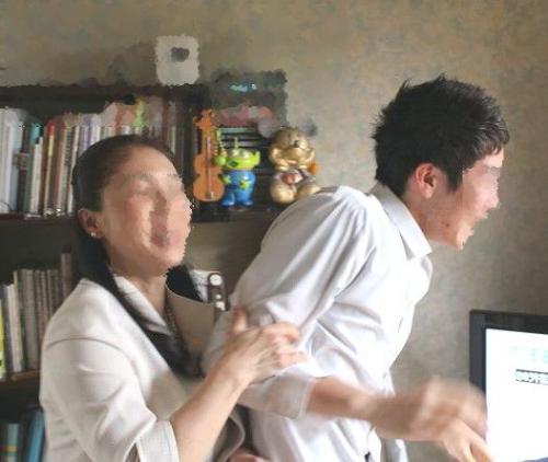 20110408むすこと写真1a