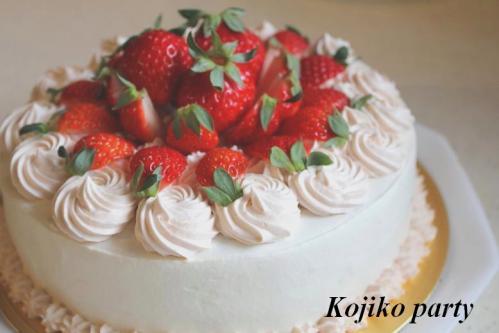 20110417娘のバースデーケーキ