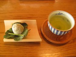 雅叙苑 お茶菓子