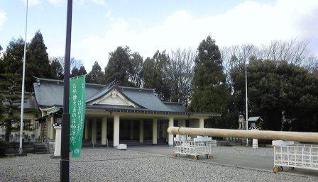 福井県護国神社様境内