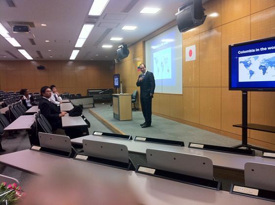 Joses presentation in 日本大学