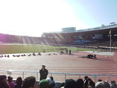 高校サッカー決勝☆