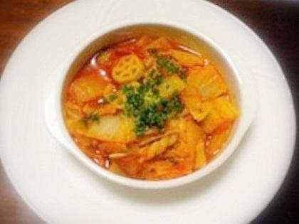 cinnamonさん白菜スープ