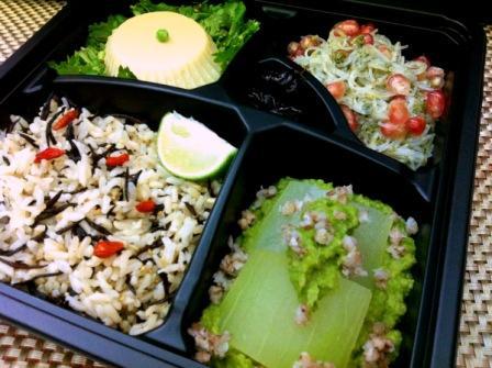 20111115ヒヨコマメ豆腐弁当