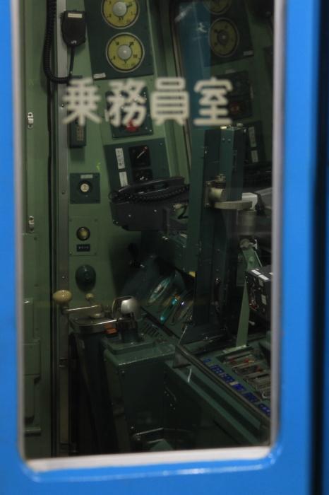 12.12.16 乗務員室の中 鳳