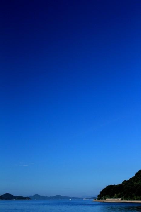 瀬戸内の空はどこまでも蒼く