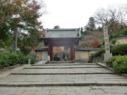 観心寺と三郎カフェ 001