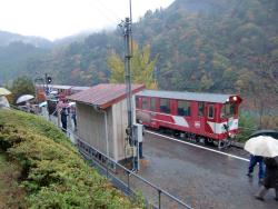 香嵐渓と大井川鉄道 070