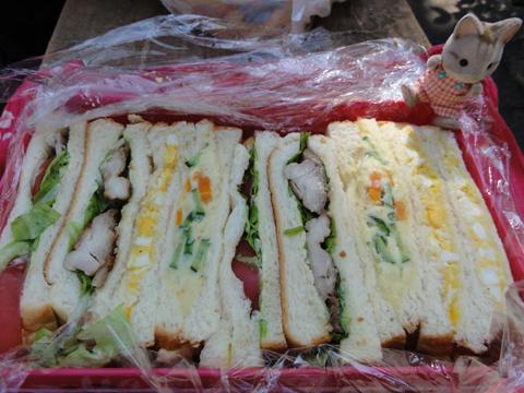 サンドイッチモリダクサーン!
