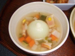 まるごとたまねぎのスープ