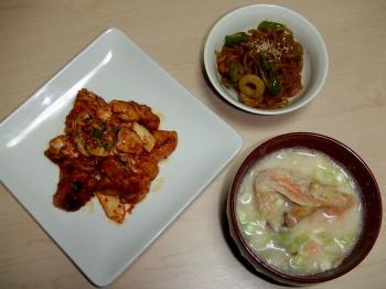 2011.10.4夕食