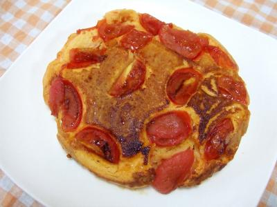 トマトパンケーキ