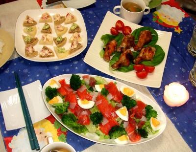 2010クリスマスイブディナー
