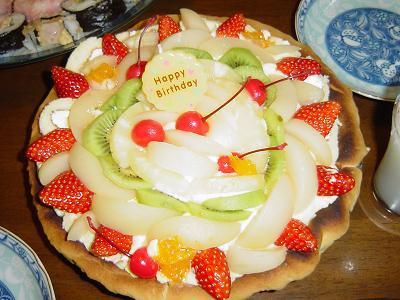 琴乃15ケーキ