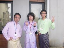 $スポ☆レク inマレーシア-チームマレーシア、民族衣装を着て