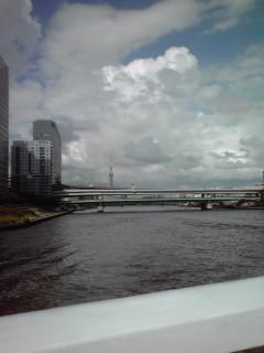 永代橋から