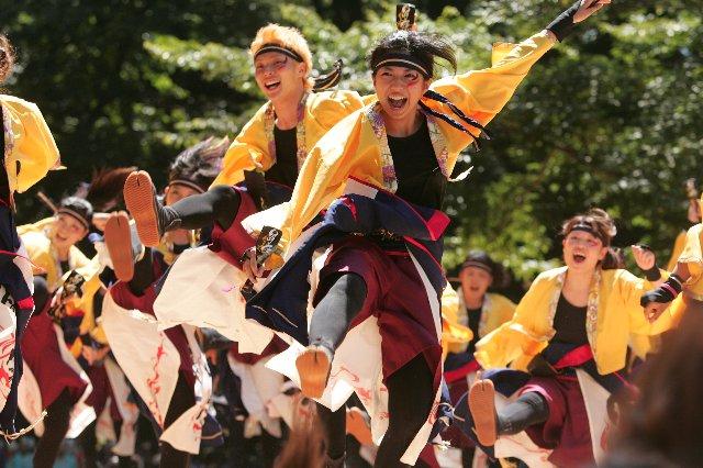 スーパーよさこい2010 踊り侍