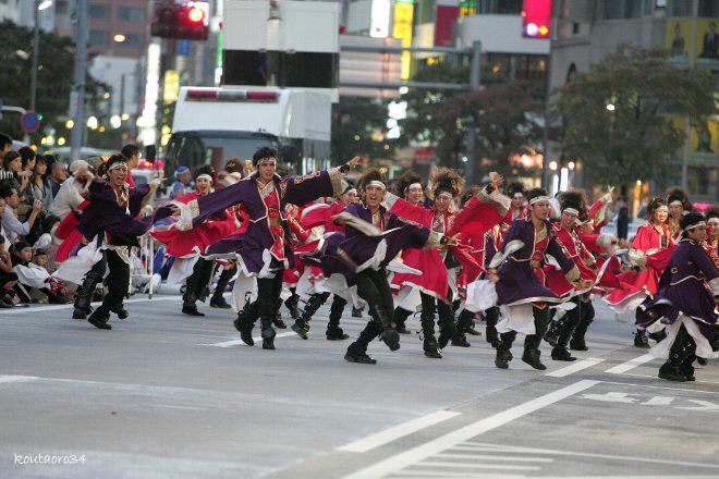 銀輪舞隊 東京よさこい11 002