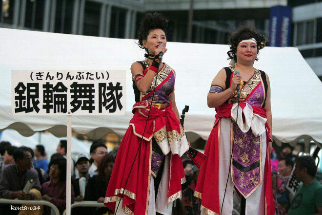 銀輪舞隊 東京よさこい11 001