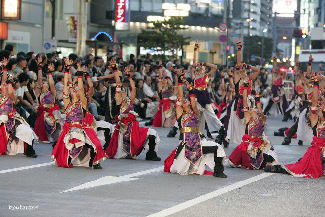 銀輪舞隊 東京よさこい11 009