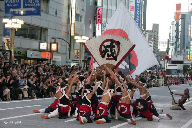 東京よさこい11 012