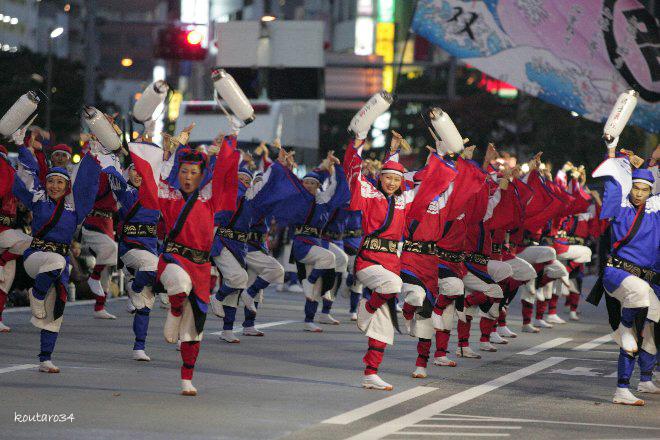 東京よさこい 国士舞双 002