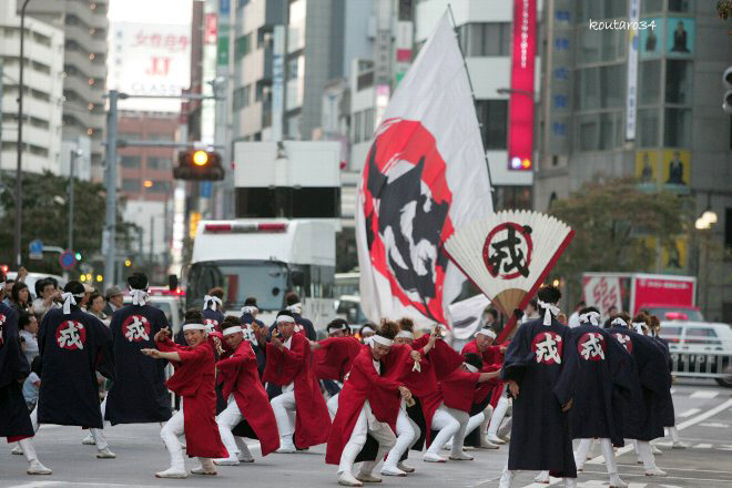 東京よさこい11 戎 002