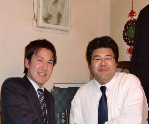 千葉市議選予定候補亀井琢磨さんと11.24