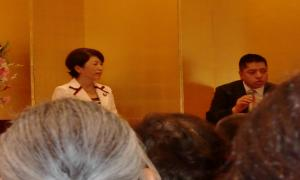 福島みずほ国政報告会20101018(佐藤優氏と)