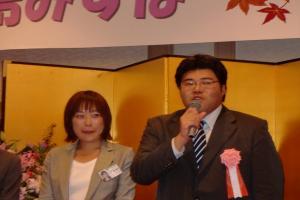福島みずほ国政報告会20101018でのあいさつ